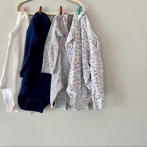 12-18m Bundle Long Sleeve Onesies- Play